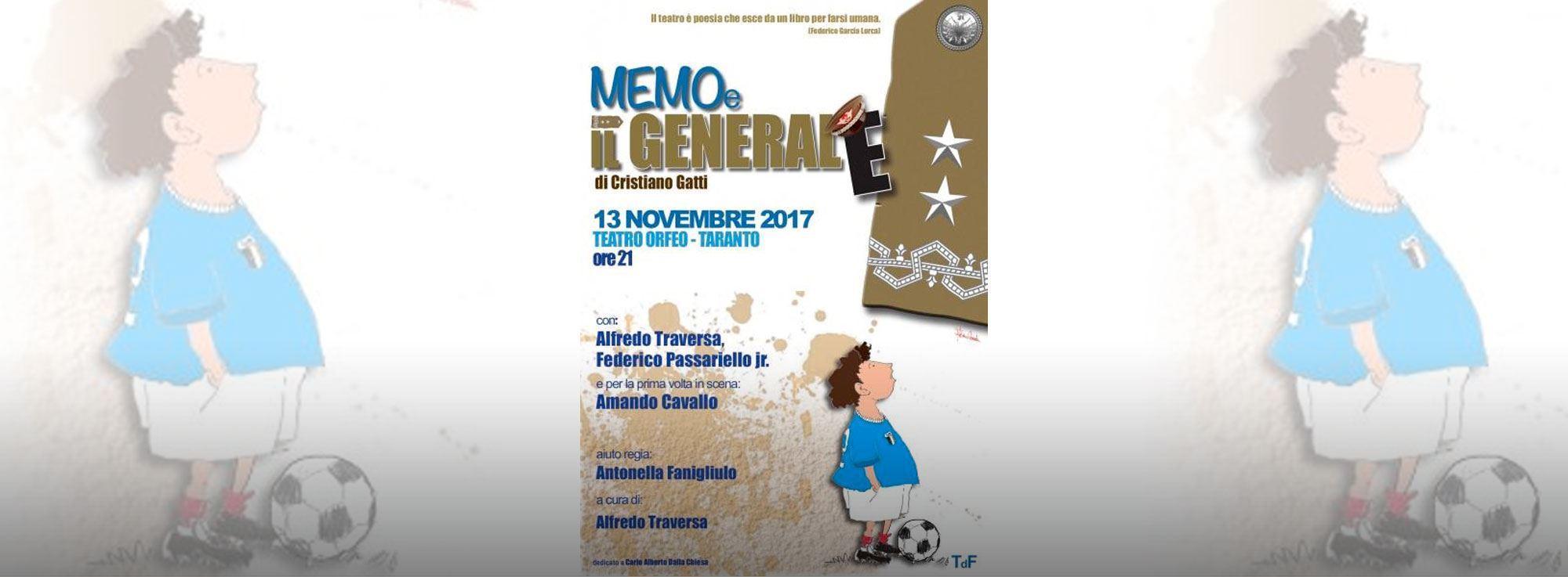 Taranto: Memo e il Generale
