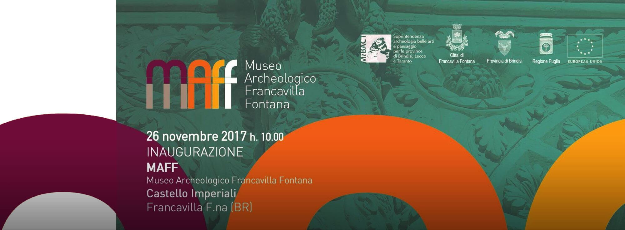 Francavilla Fontana: Inaugurazione museo archeologico