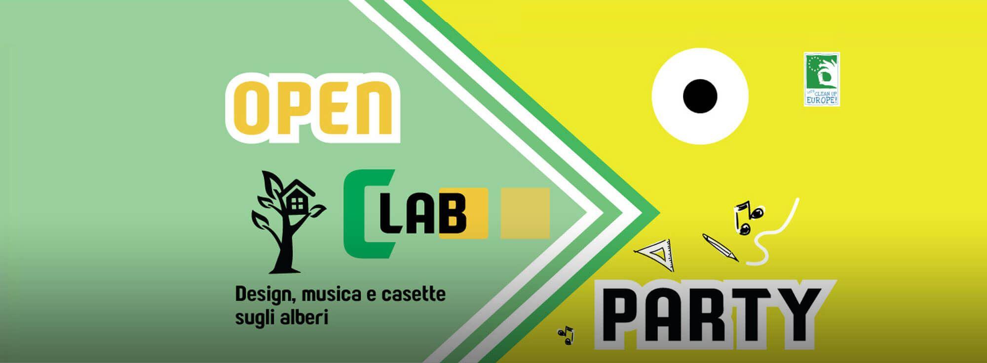 Veglie: Open CLab Party. Design, musica e casette sugli alberi
