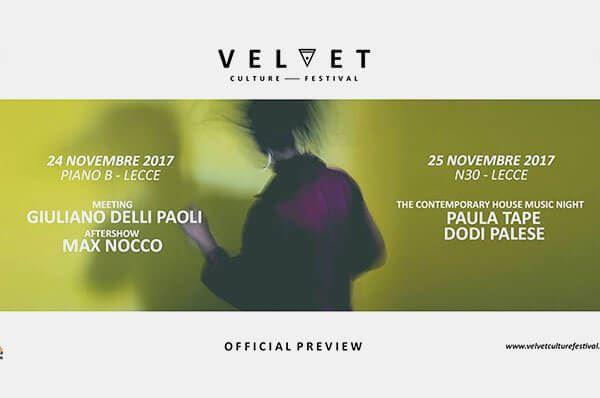 Velvet Culture Festival - Preview
