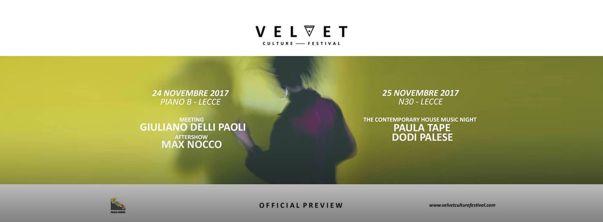 Lecce: Velvet Culture Festival - Preview