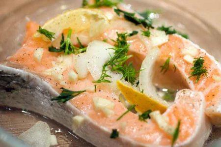 al forno salmone