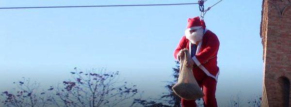 La discesa di Babbo Natale