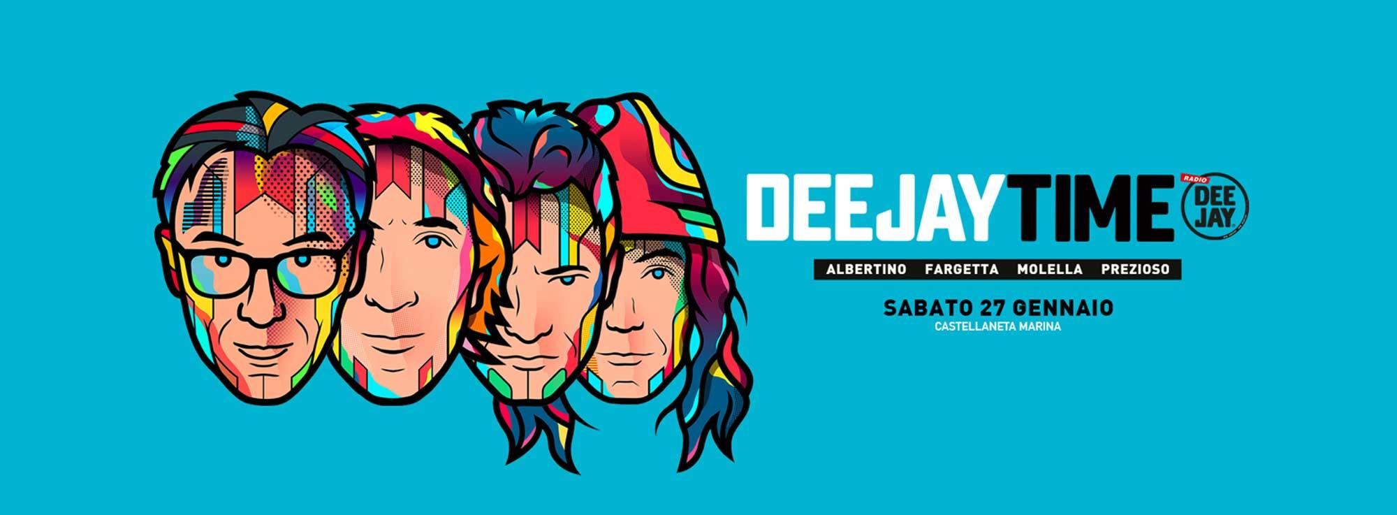 Castellaneta Marina: Deejay Time Reunion