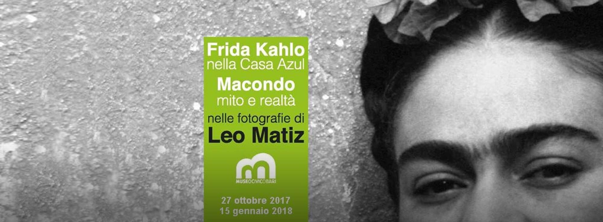 Bari: Frida Kahlo nella Casa Azul-Macondo