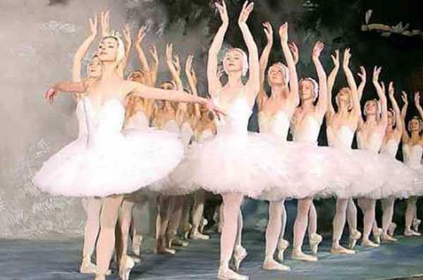 Il Balletto di Mosca ne Il Lago dei Cigni