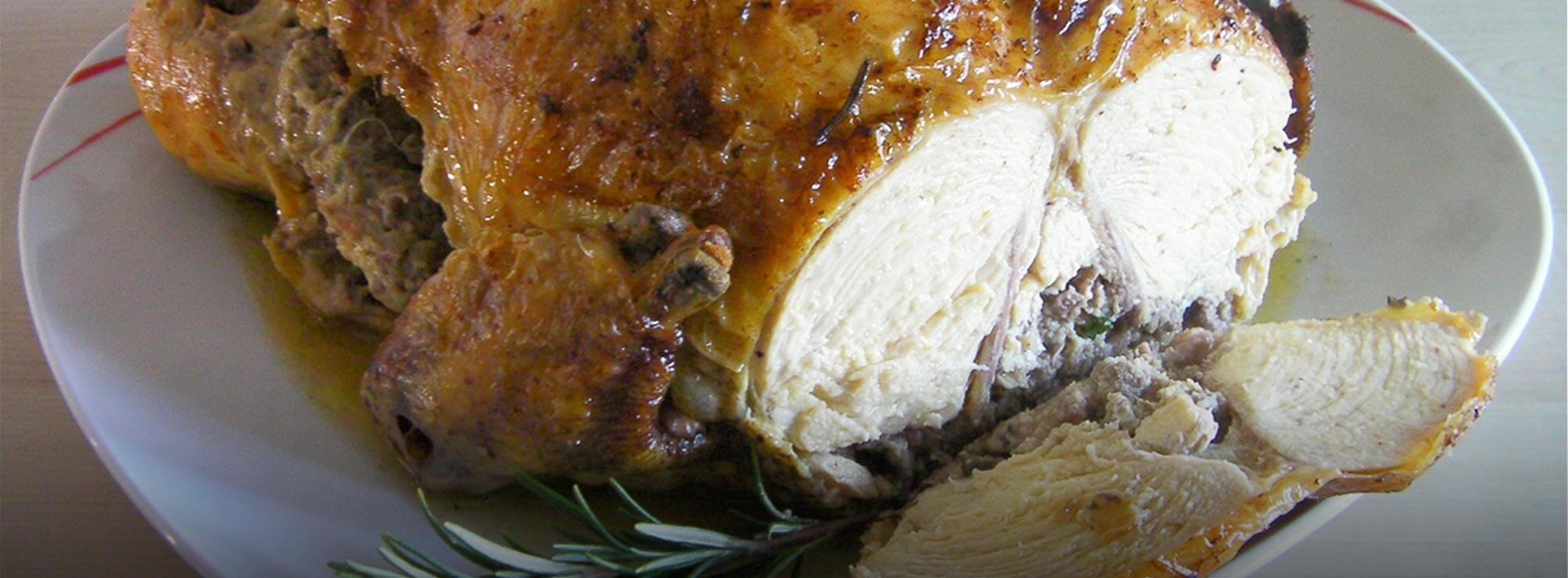 Ricetta: Pollo cusutu nculu