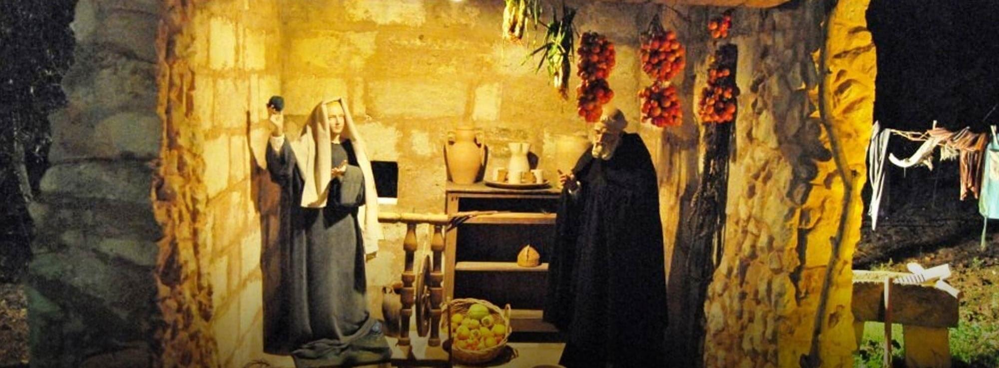 Soleto: Presepe di san Francesco