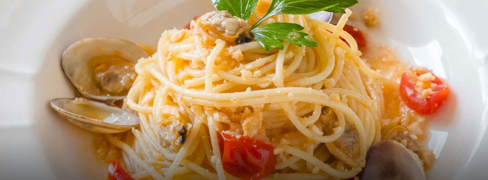 Ricetta: Spaghetti vongole e taralli