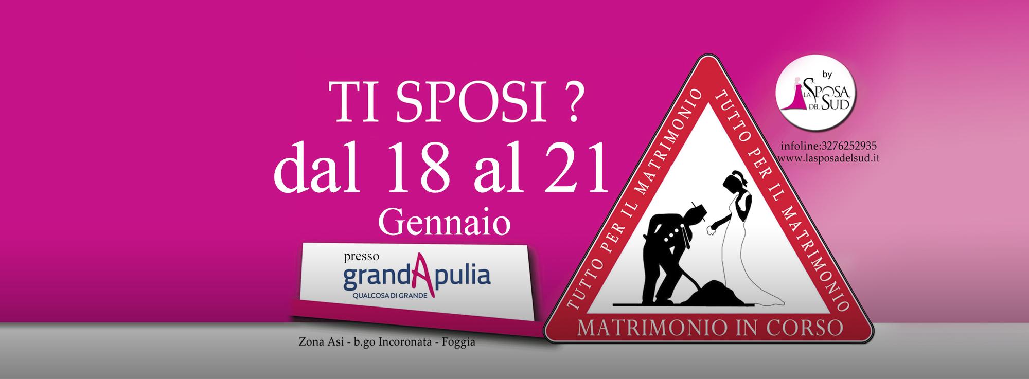 Foggia: Matrimonio in corso