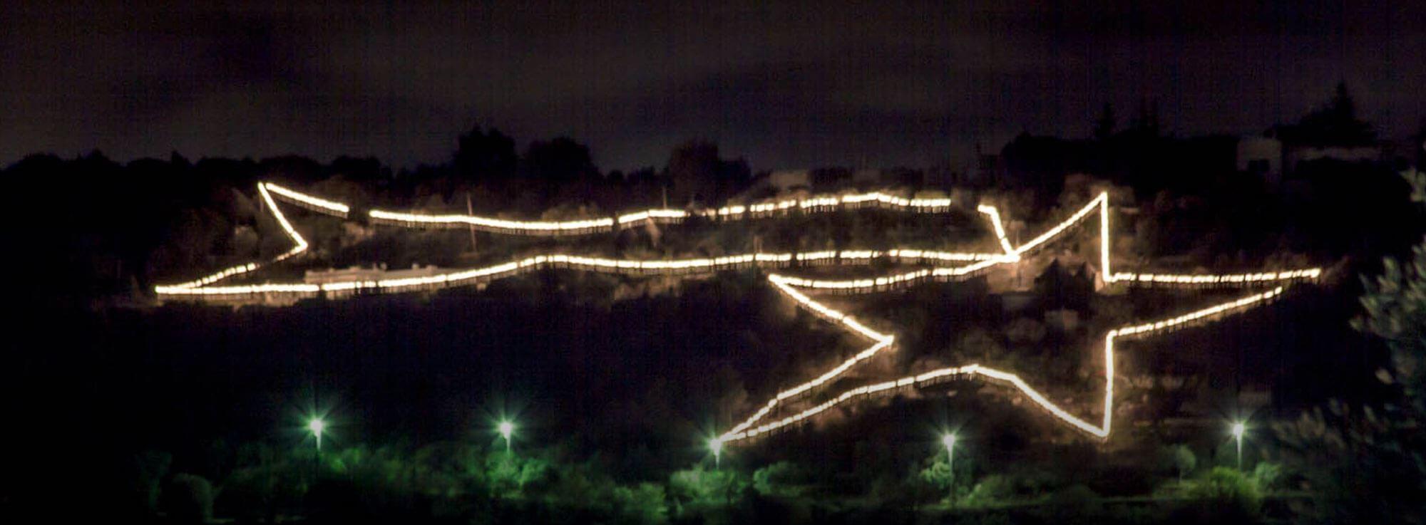 Laureto di Fasano: Presepe Stella sulla Grotta