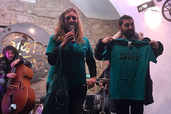 Bitonto contro droga e mafia con il sindaco Abbaticchio e Dico No alla droga