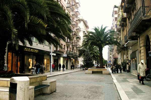 Via Sparano, a Bari lavori completati entro il mese di luglio