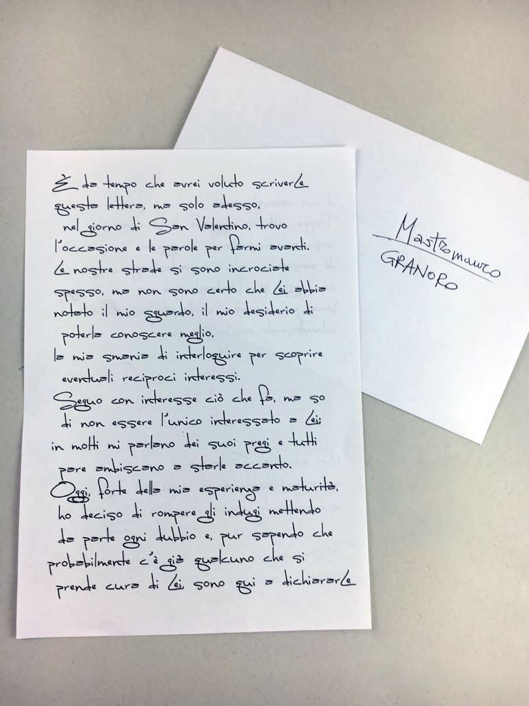 lettera san valentino
