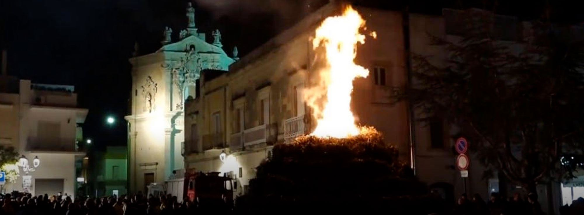 Cutrofiano: Sant'Antoni de le Fòcare
