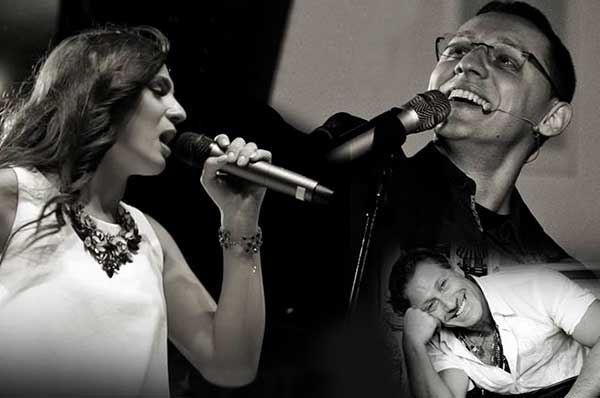 Micky Sepalone, Angela Piaf e Canta Napoli Band
