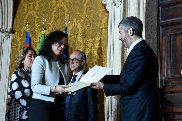 Laureata al Politecnico di Bari vince il Premio Leonardo 2017
