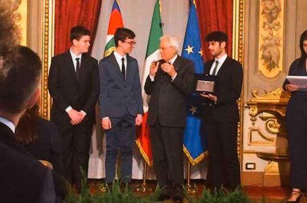 Il Presidente Mattarella premia tre scienziati salentini ed un eroe