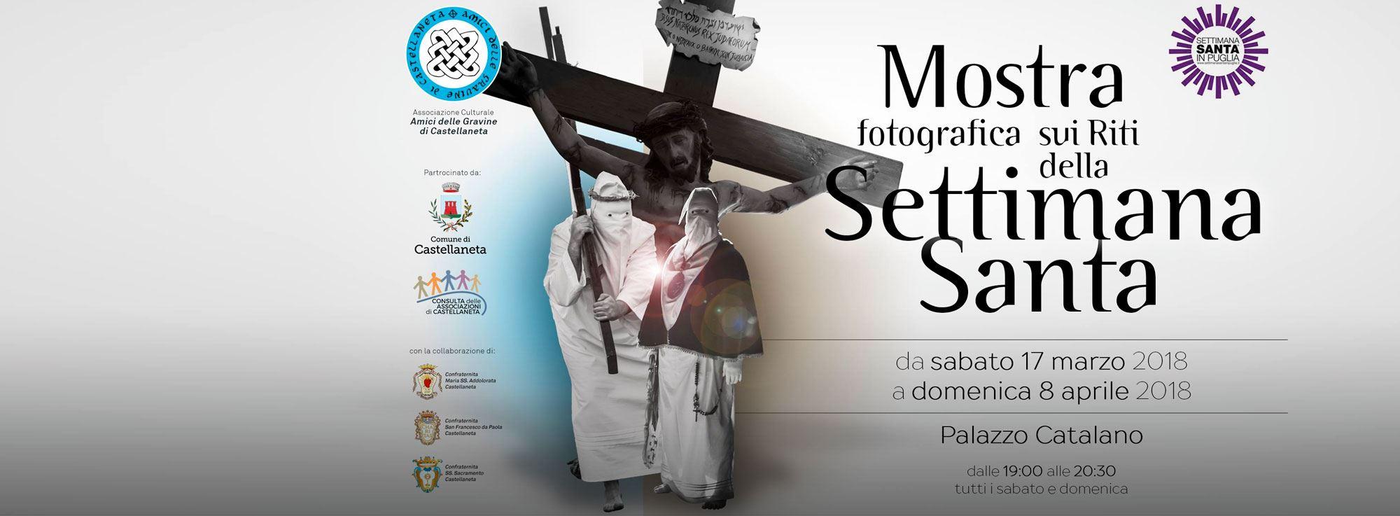 Castellaneta: Mostra fotografica sui Riti della Settimana Santa