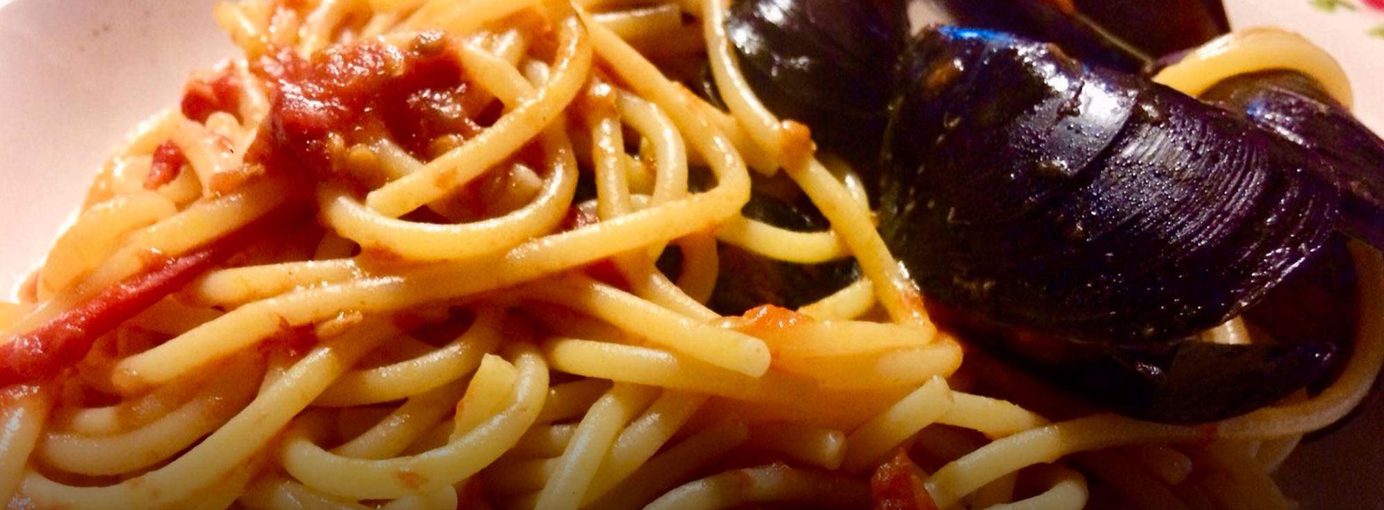 Ricetta: Spaghetti con le cozze
