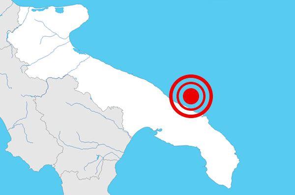 Scossa di terremoto in Puglia, nessun danno a cose e persone