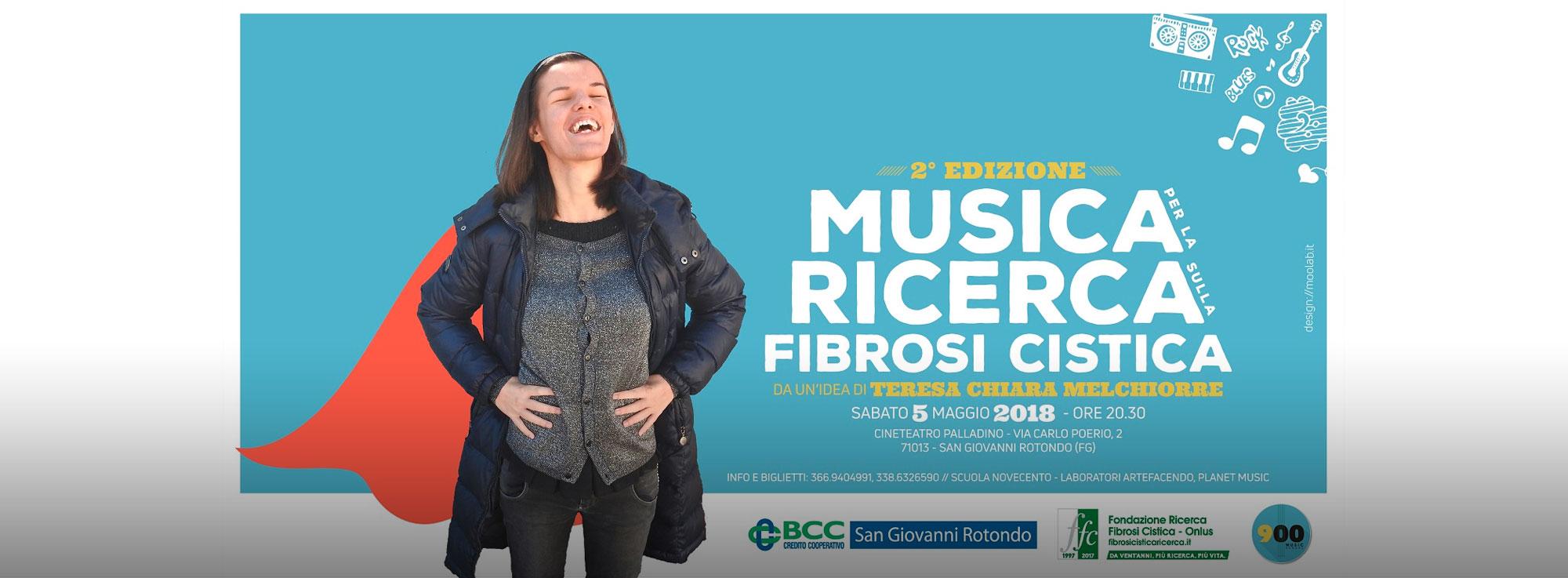 San Giovanni Rotondo: Musica per la ricerca sulla fibrosi cistica