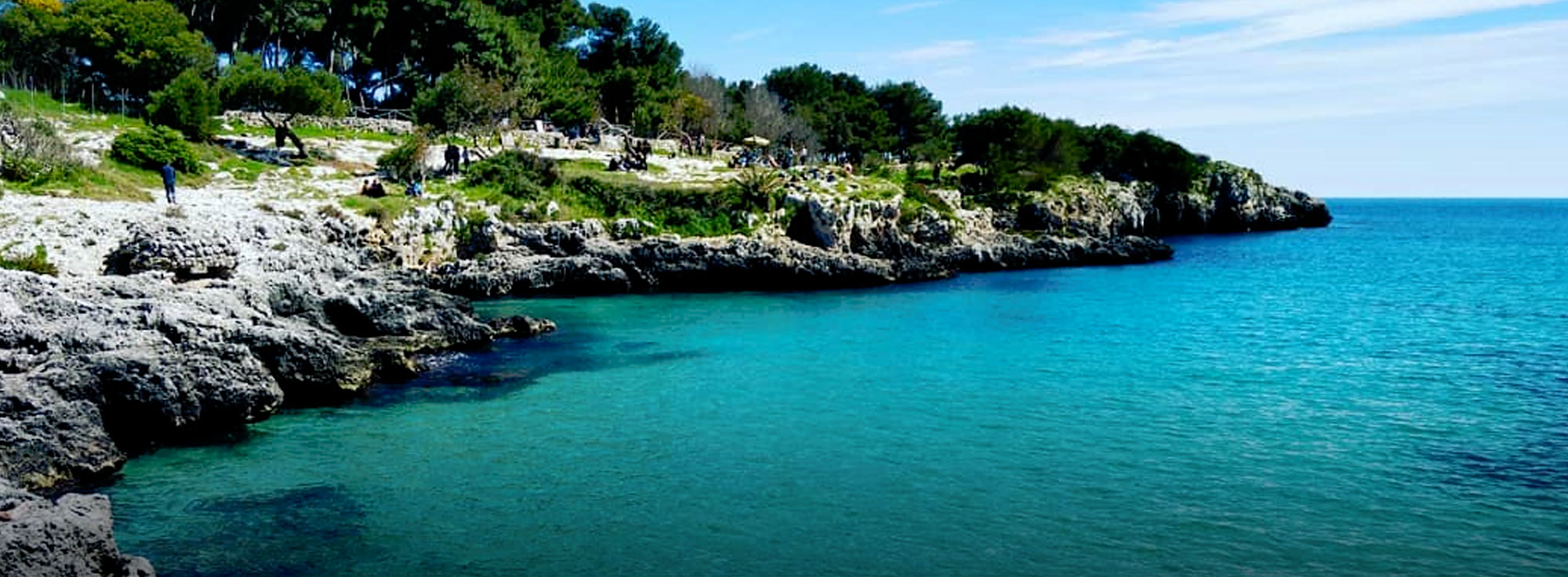 Porto Badisco, approdo di Enea sulle coste pugliesi - Puglia.com