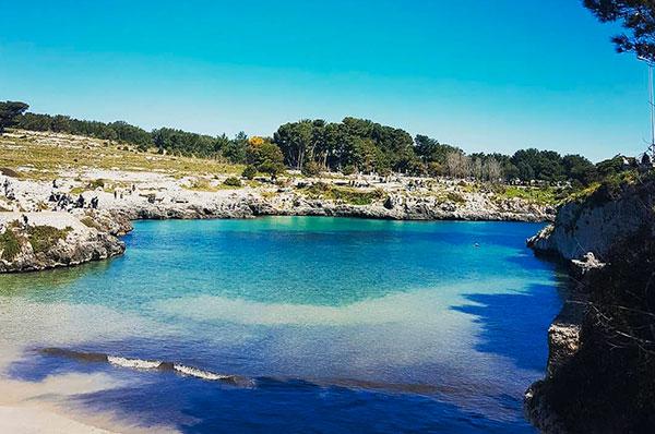 Porto Badisco, Approdo di Enea sulle coste pugliesi