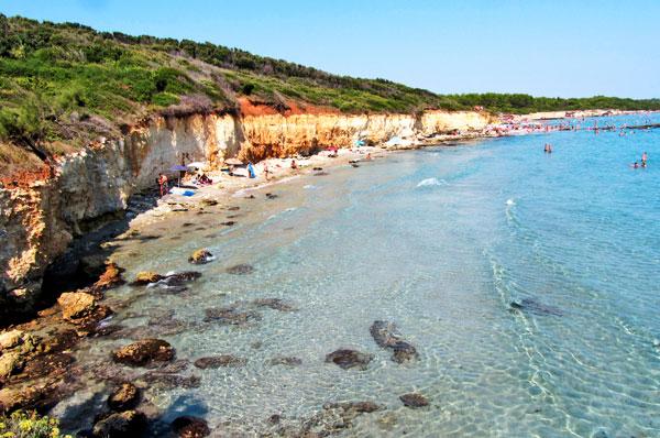 Baia dei Turchi, il paradiso del mare ad Otranto in Puglia