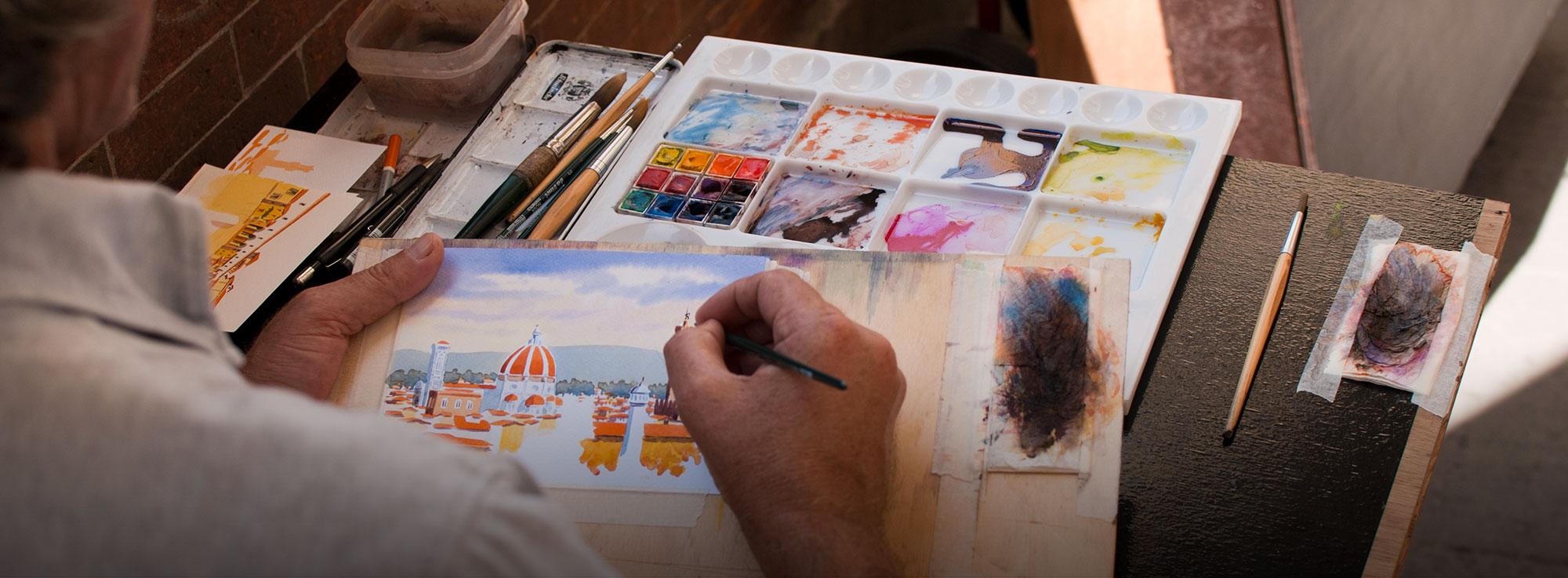Maruggio: Estemporanea di Pittura