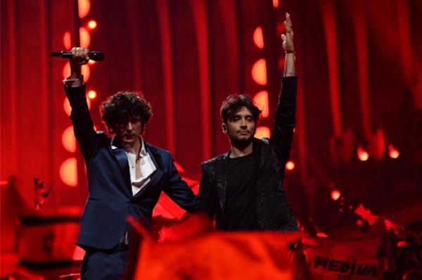 Ermal Meta e Fabrizio Moro arrivano quinti all'Eurovision Song Contest