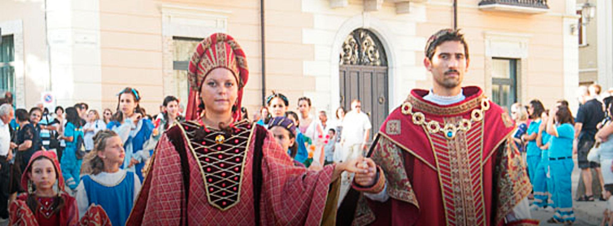 Torremaggiore: Corteo Storico di Fiorentino e Federico II