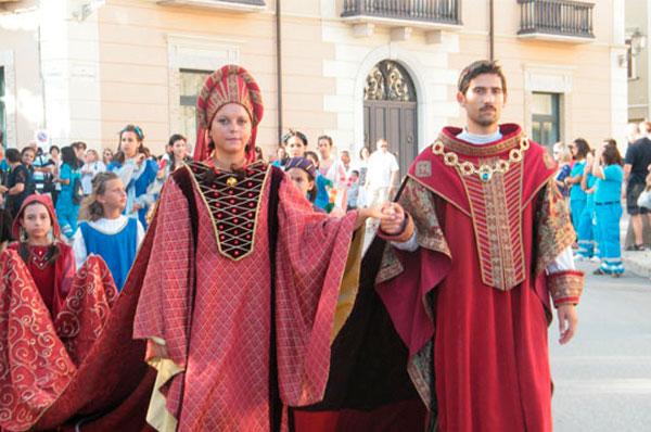 Corteo Storico di Fiorentino e Federico II