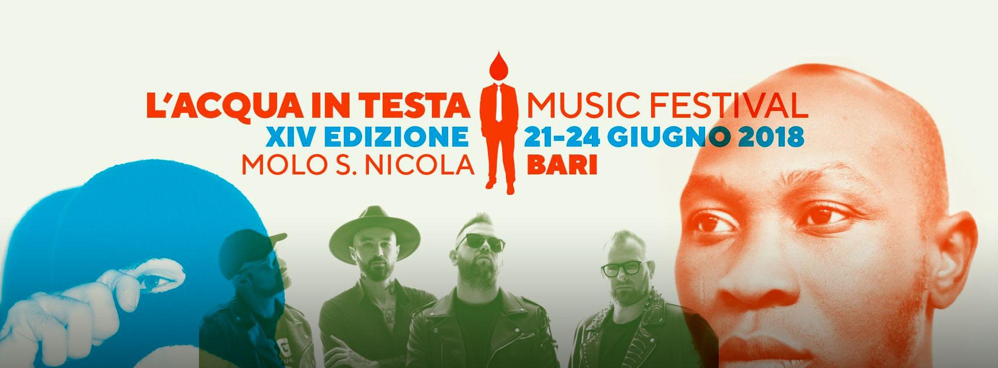 Bari: L'Acqua in Testa Music Festival