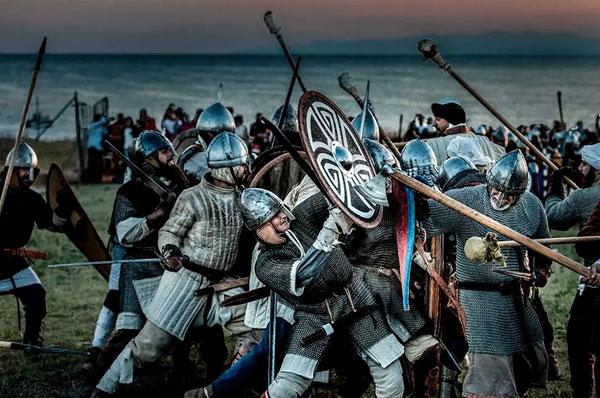 Battaglia dell'XI secolo tra Normanni e Bizantini