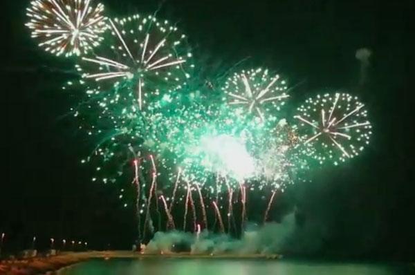 Trani, il Festival dell'arte pirotecnica conquista la regione Puglia