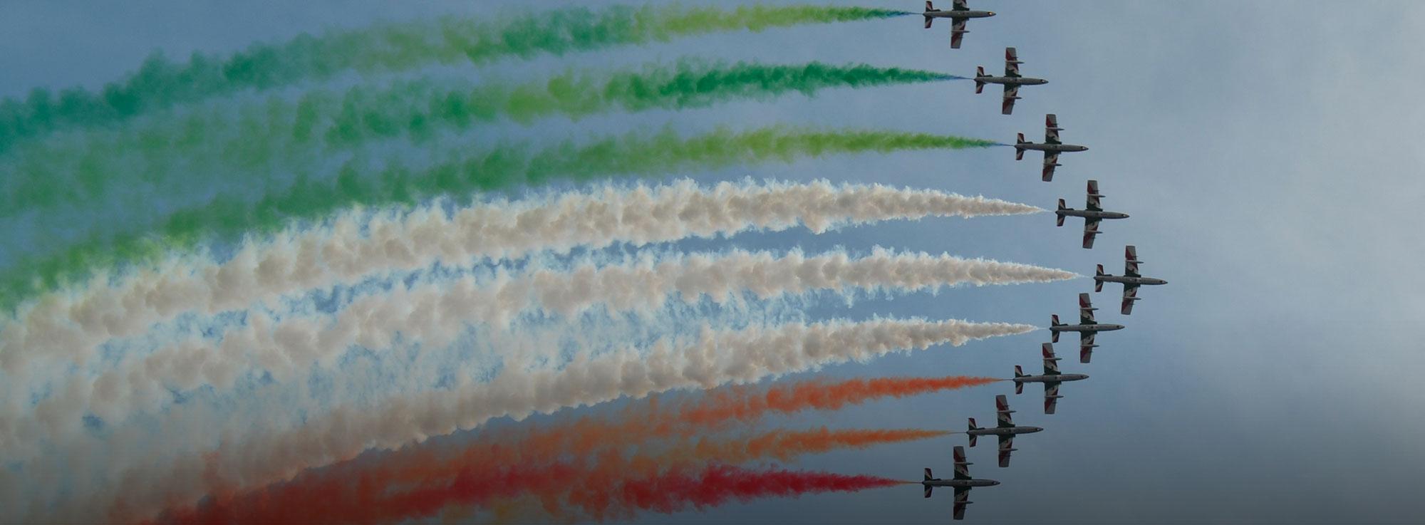 Taranto: Frecce Tricolori