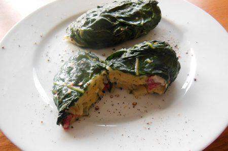 Tortini di burrata e bietole, piatto fresco e dal sapore squisitamente rustico