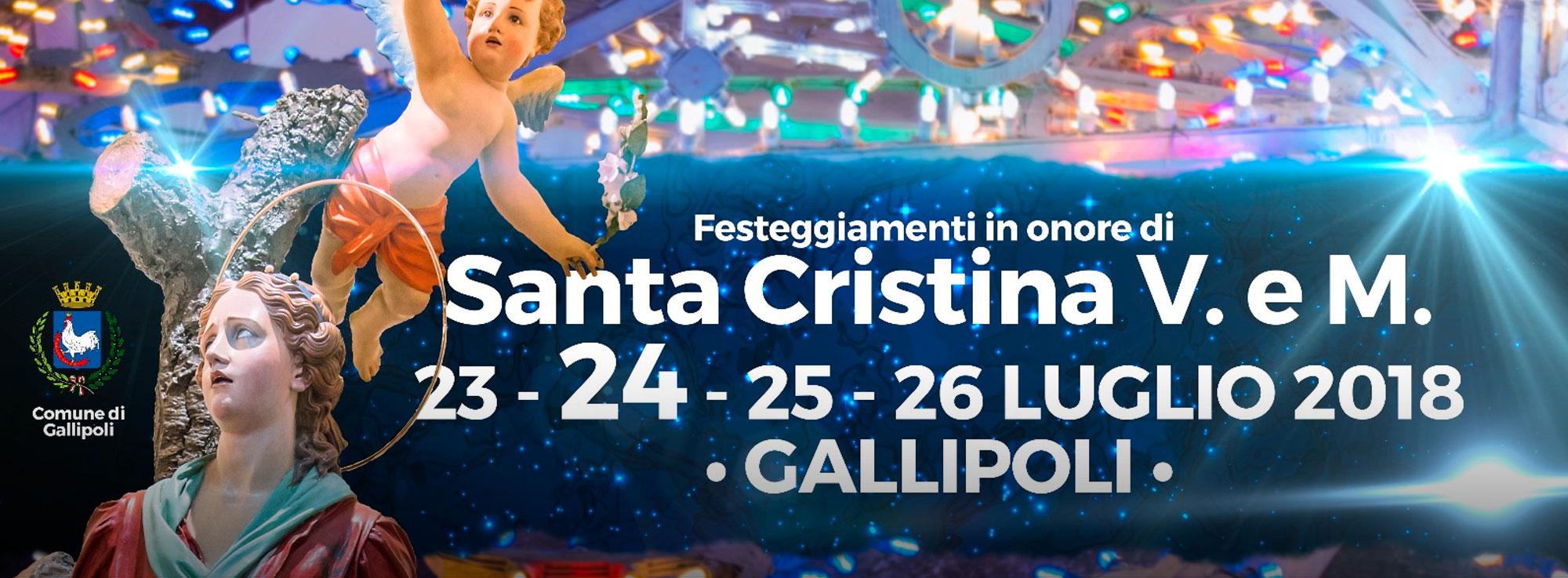 Gallipoli: Festa Santa Cristina
