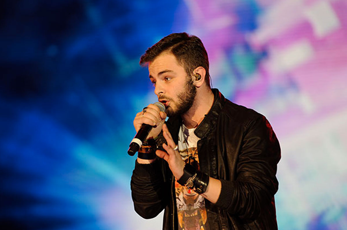 Lorenzo Fragola in concerto