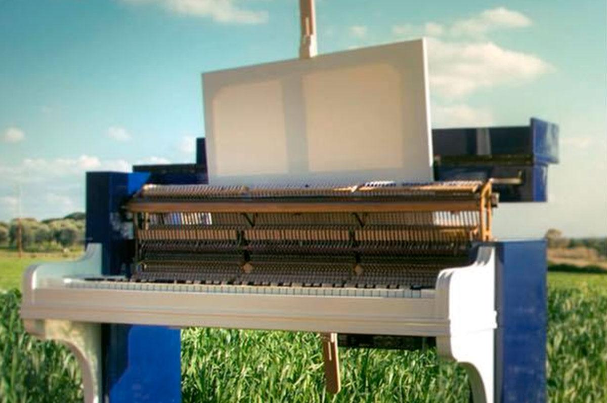 Il pianoforte che dipinge