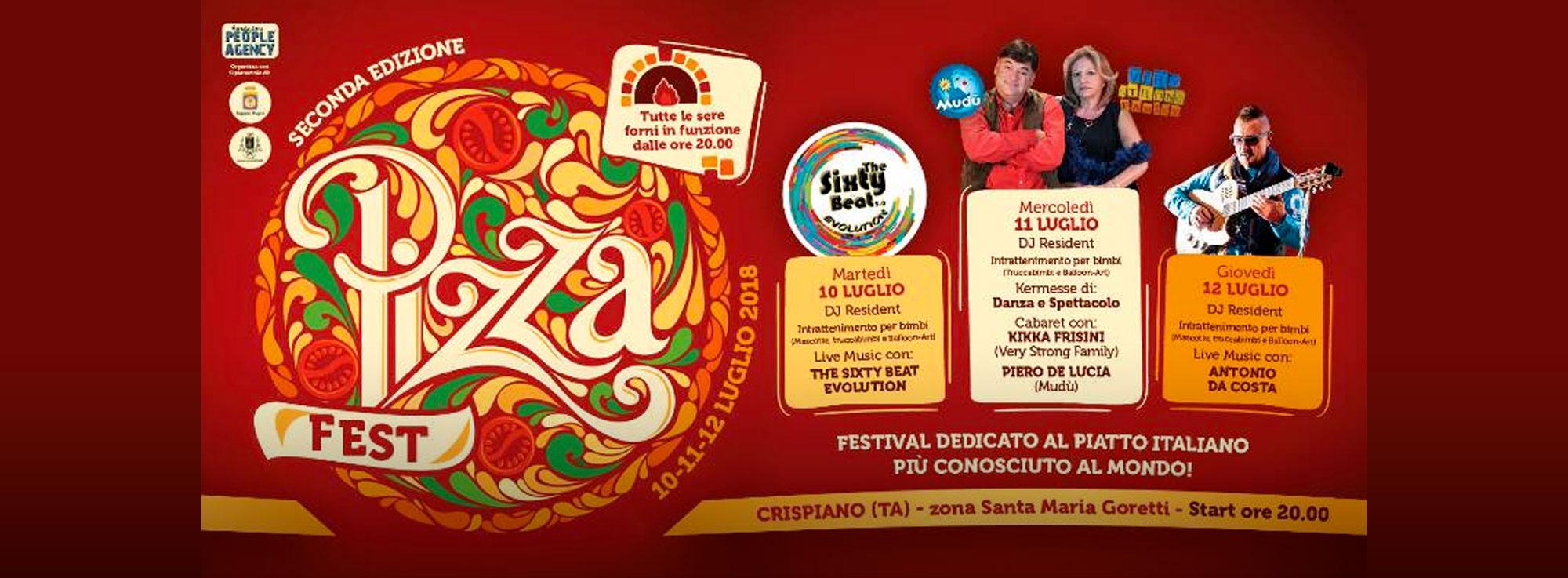 Crispiano: Pizza Fest