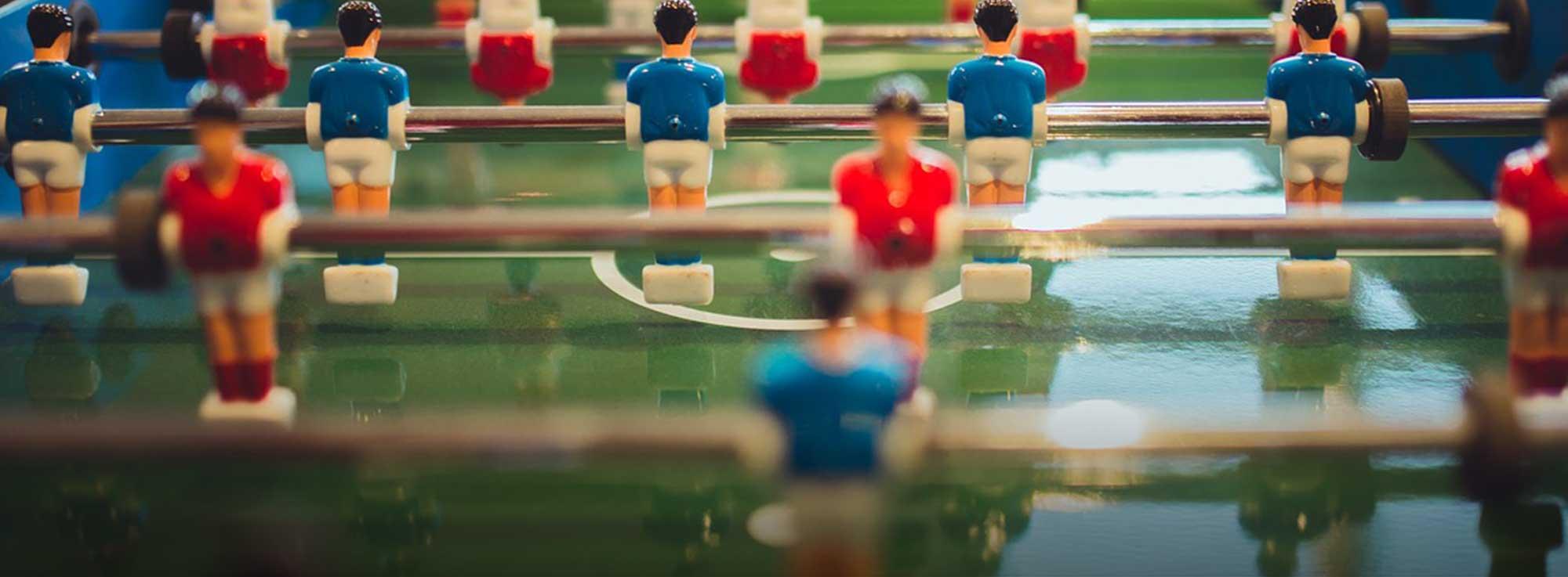 Nardò: Torneo di Calcio Balilla Umano