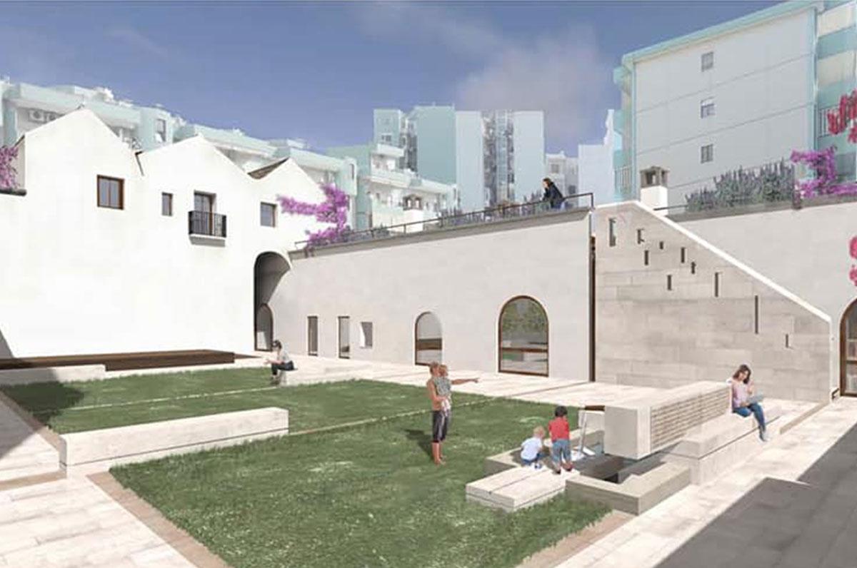 Masseria Solito, il progetto per il Mudit nel quartiere Tre Carrare di Taranto