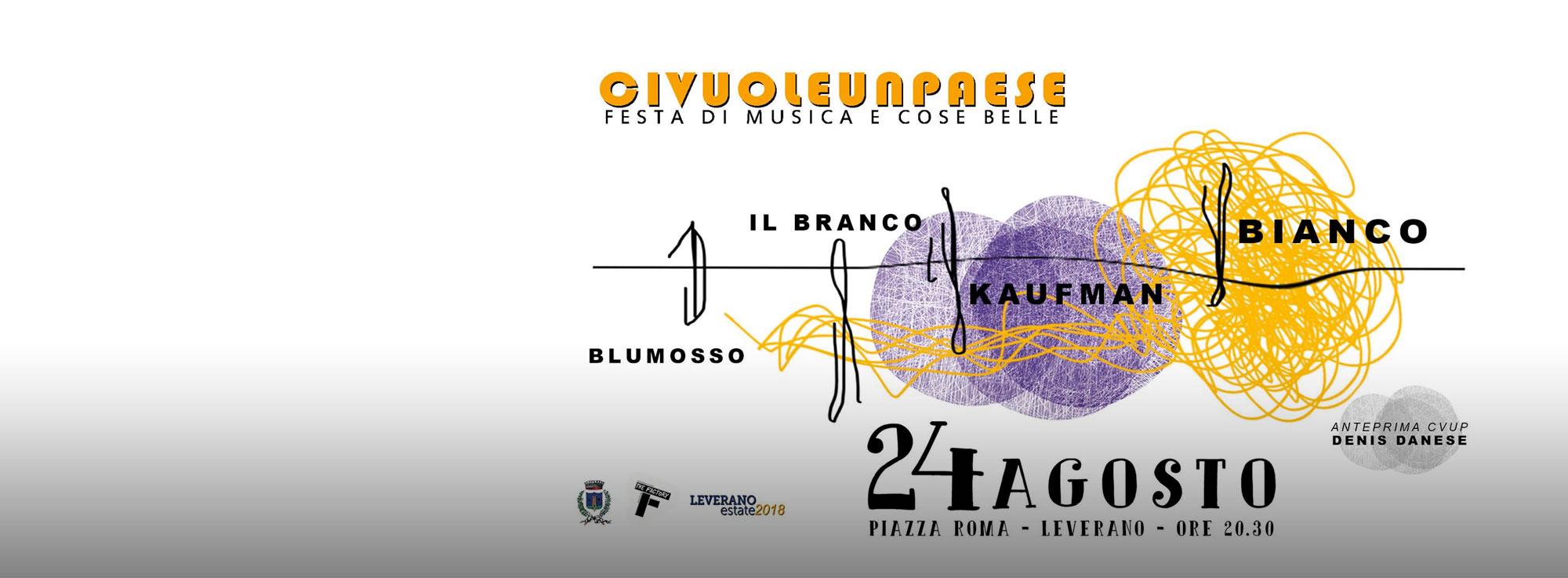 Leverano: CivuoleunPaese – Festa di Musica e Cose Belle