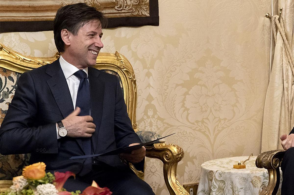 Il premier Giuseppe Conte a Volturara Appula per il Ferragosto