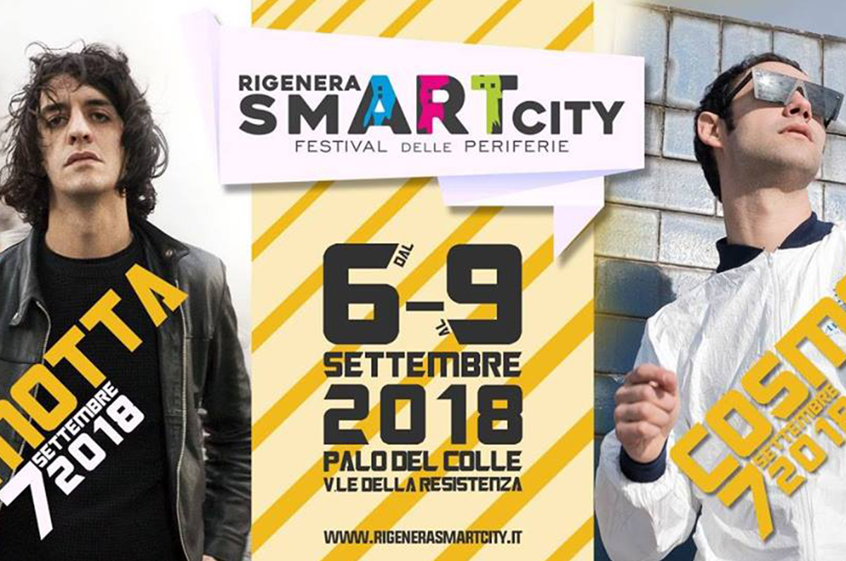Motta e Cosmo - Rigenera SmART City 2018