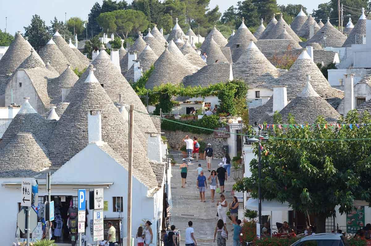 Valle d'Itria, aumento del turismo in alcune speciali località in Puglia