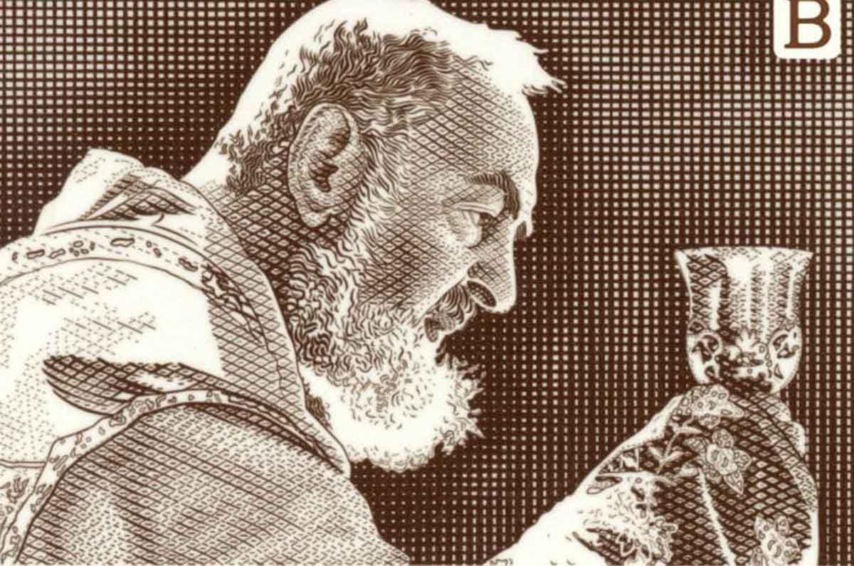 San Pio celebrato da Conte ed Emiliano, emesso il francobollo