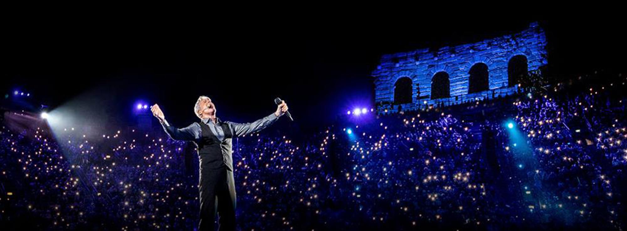 Bari: Claudio Baglioni in concerto, Al Centro Tour